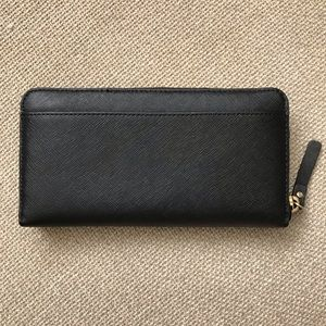 kate spade Bags - Black leather Kate Spade Wallet
